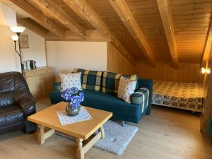 Wohnzimmer mit Kuschelecke
